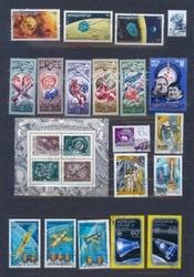 Наборы марок по разным темам