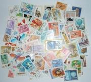 100 разных марок Венгрии