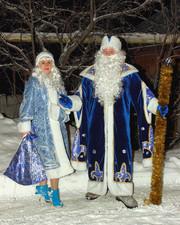 Дед Мороз,  Снегурочка и новогодняя дискотека в Липецке и области