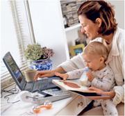 Работа для молодых мамочек