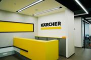 Освещение офиса компании KARCHER