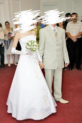 продаеться белое свадебное платье